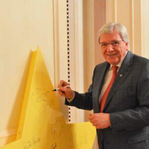 Volker Bouffier und sein Kabinett